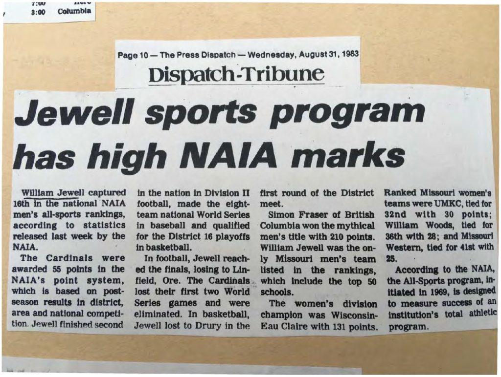 jewell-sports-program-has-high-naia-marks