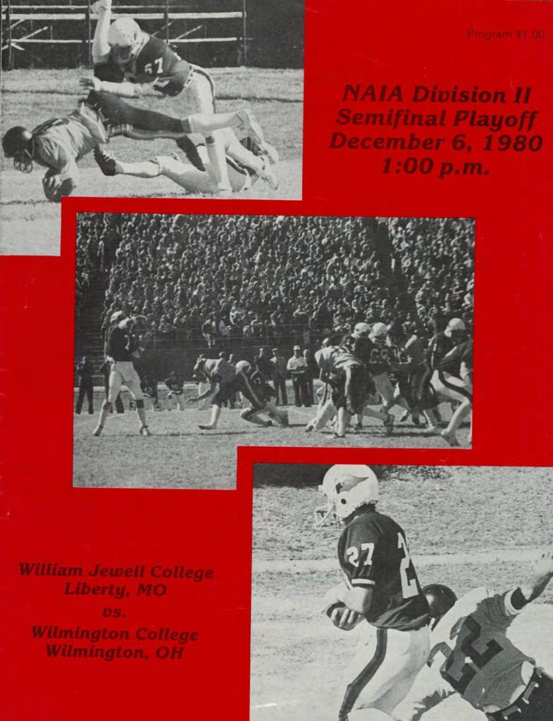1980 Wilmington Playoff Program