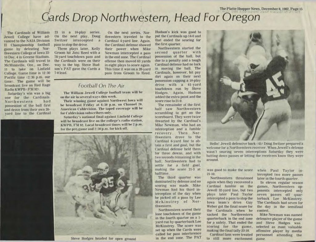 Cards Drop Northwestenr, Head for Oregon - 12081982