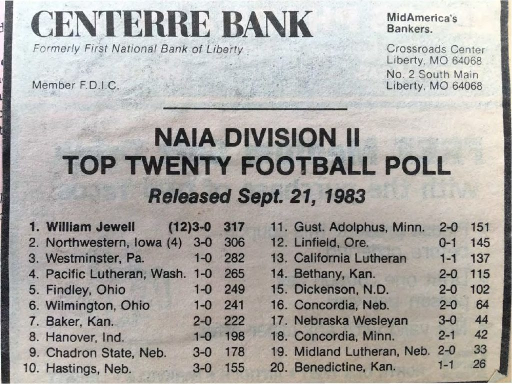 naia-division-ii-top-twenty-football-poll