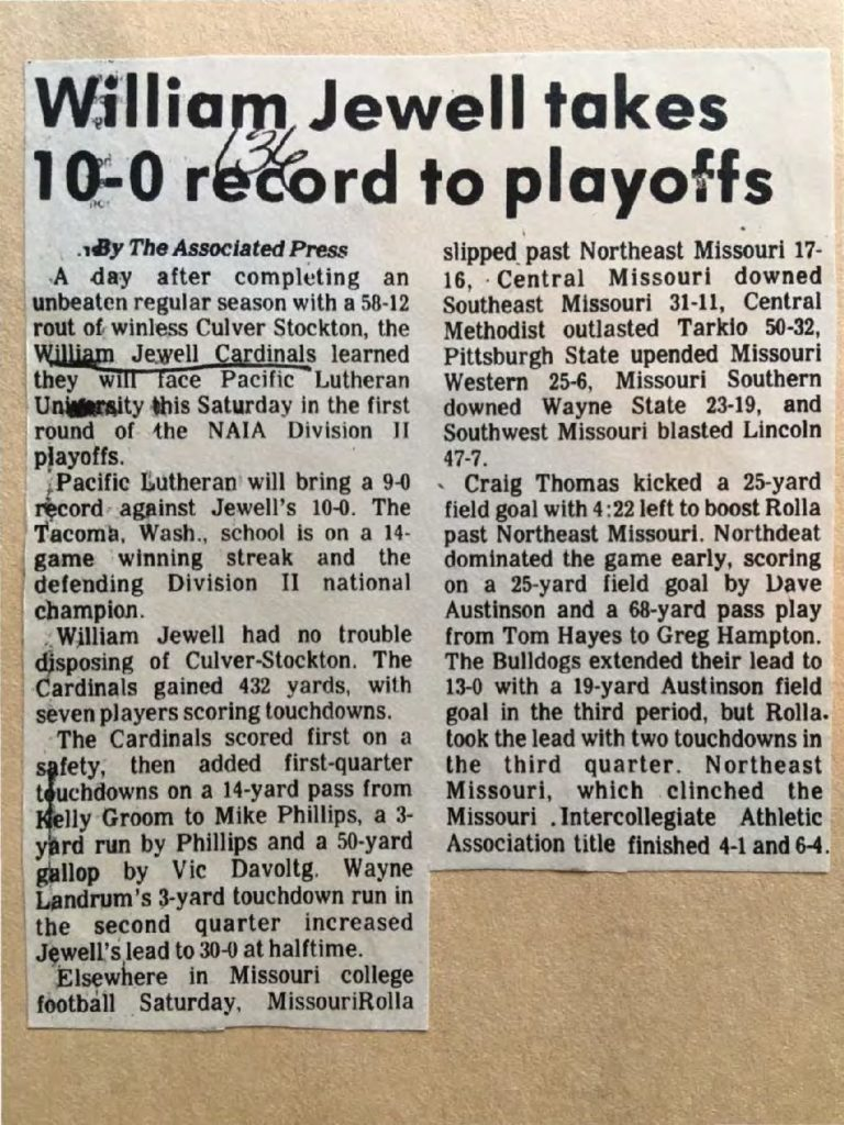 william-jewell-takes-10-0-record-to-playoffs